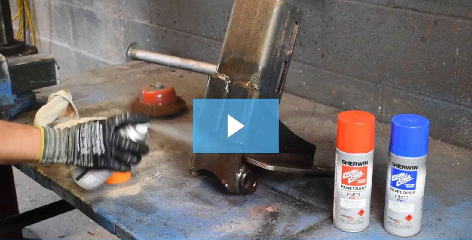 How to test for welding flaws with Sherwin NDT