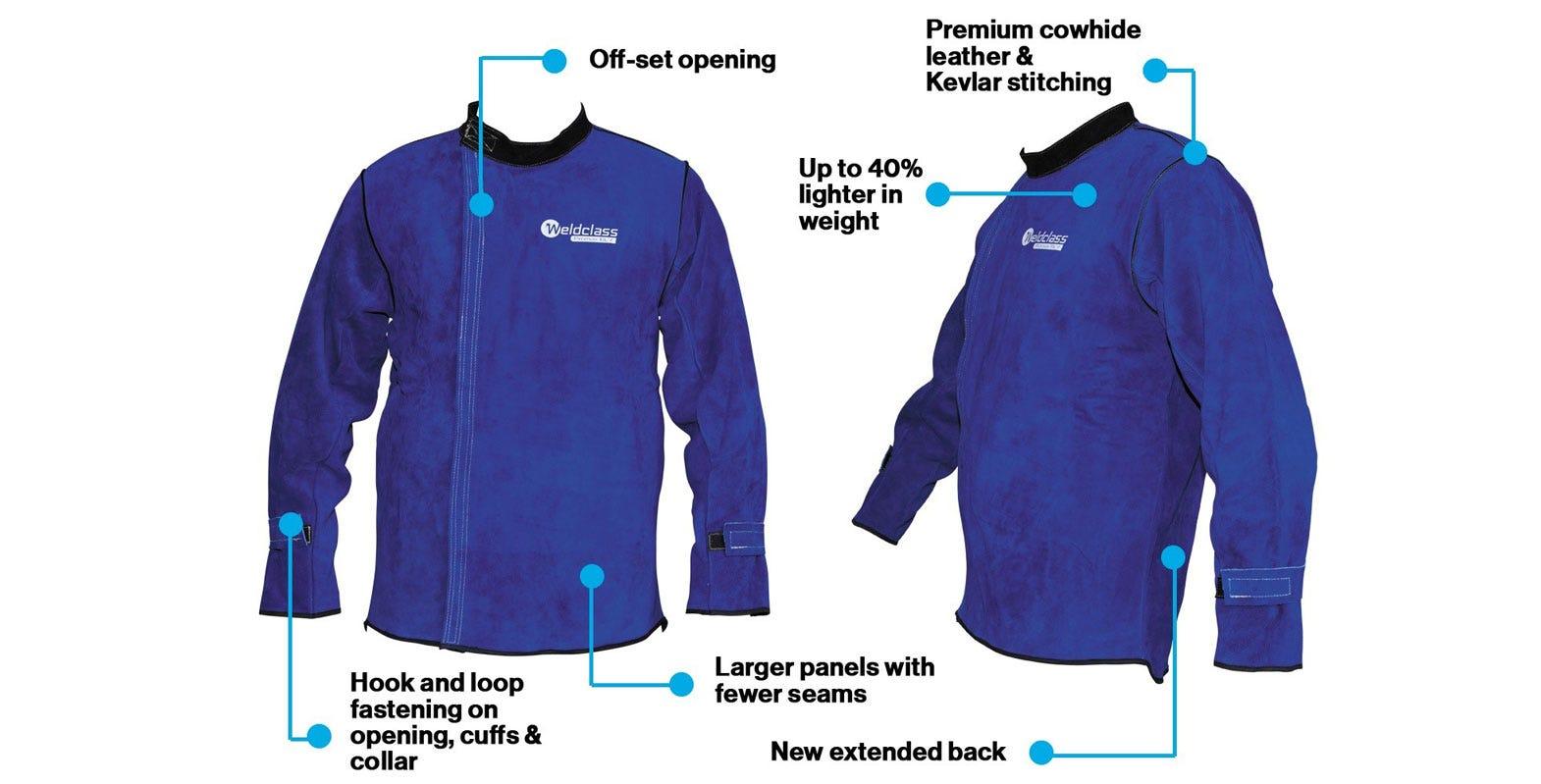 Welding jacket design upgrade - find a new level of lightweight comfort!