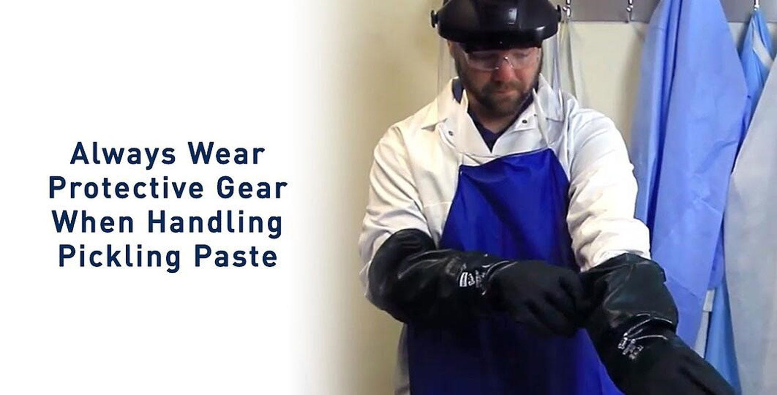 All you need to know about PPE for pickling paste