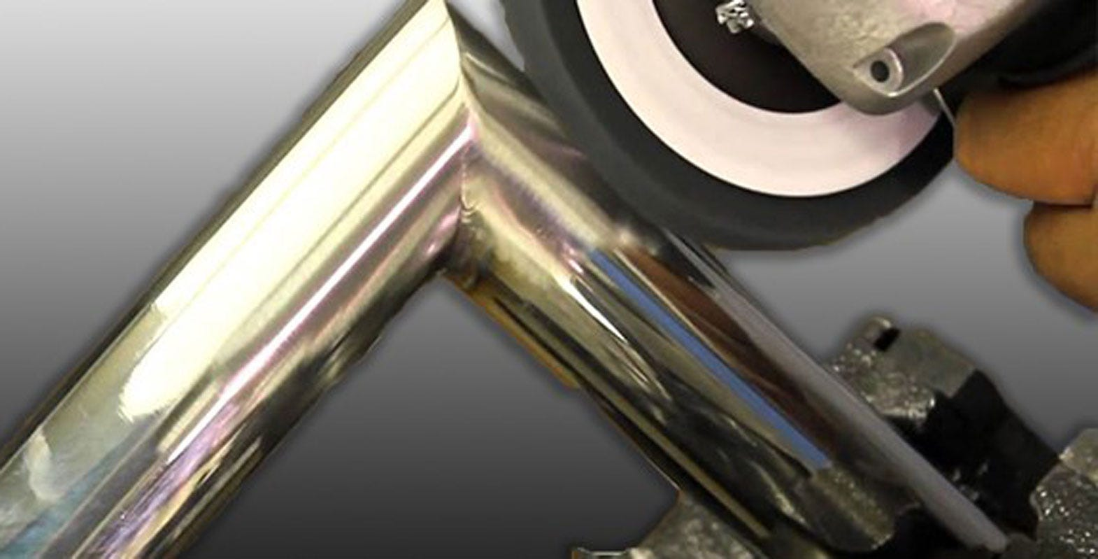How to get a satin finish on stainless steel tubes & pipes