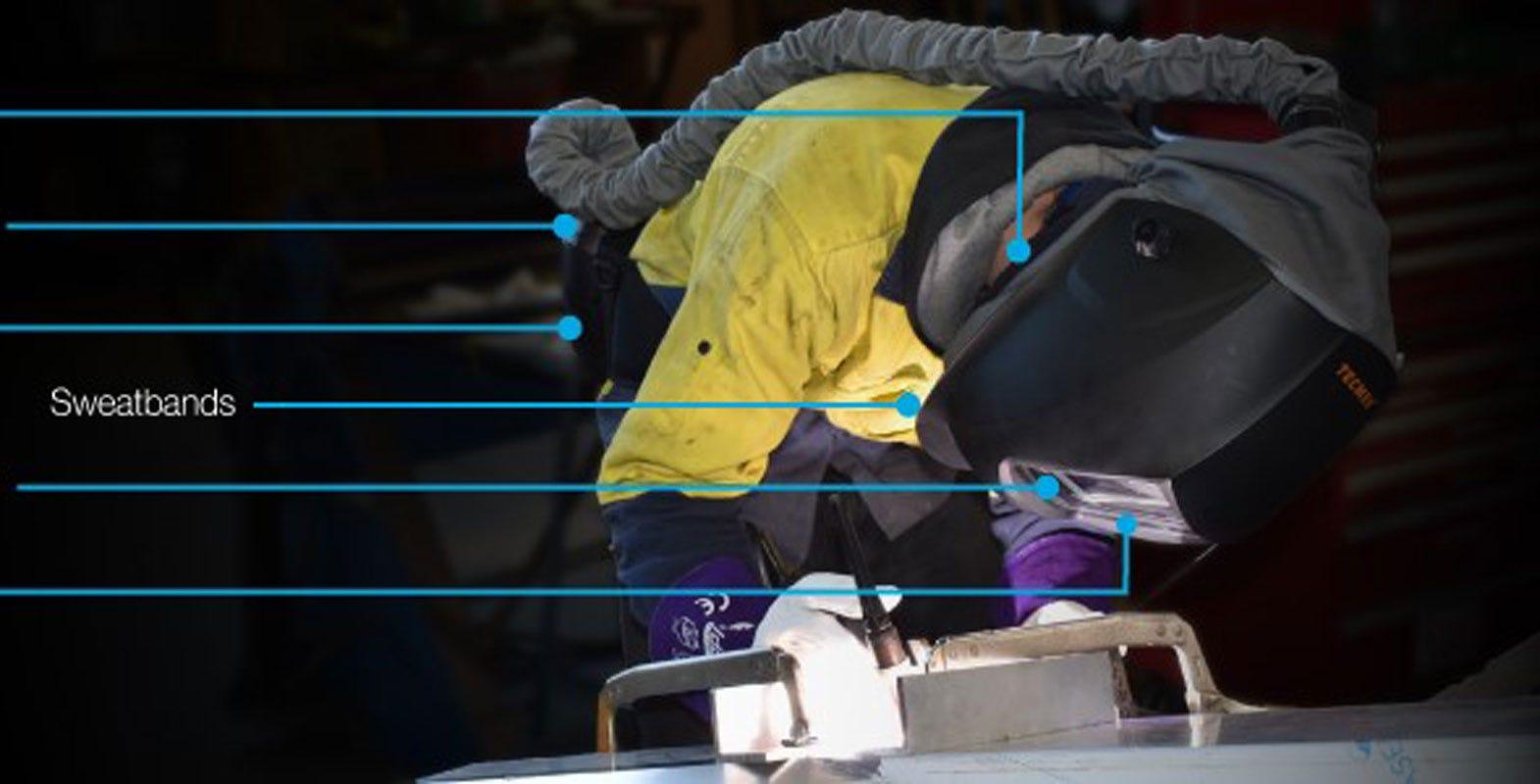 When do welding helmet & respirator parts need replacing?