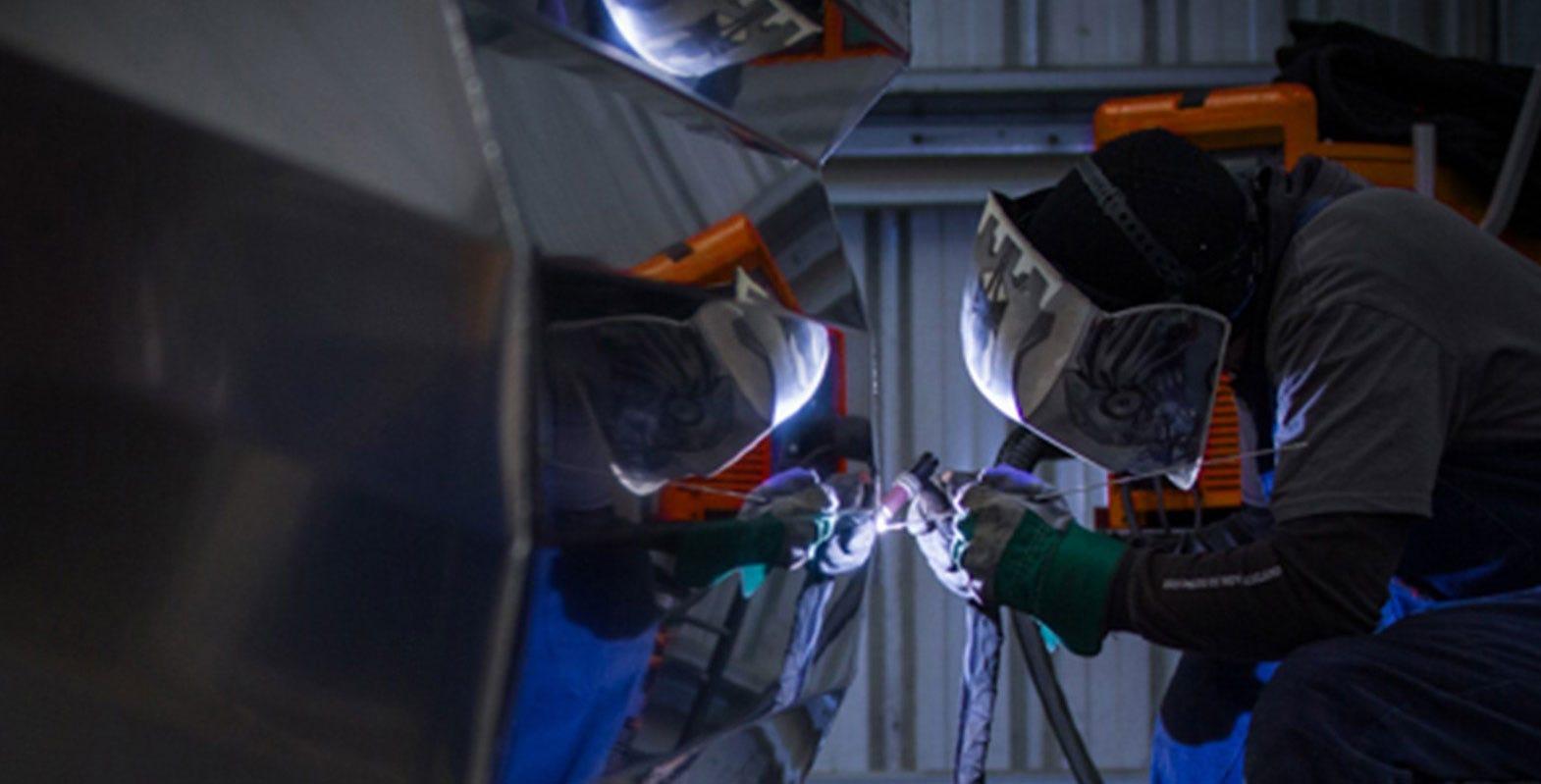 Aluminium cutting discs that work for boat builders