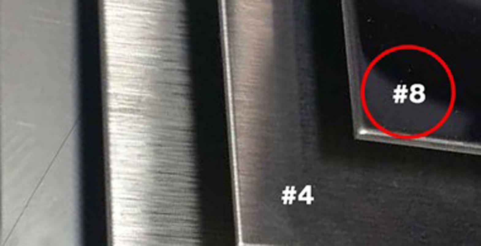 How to polish stainless steel to a mirror finish